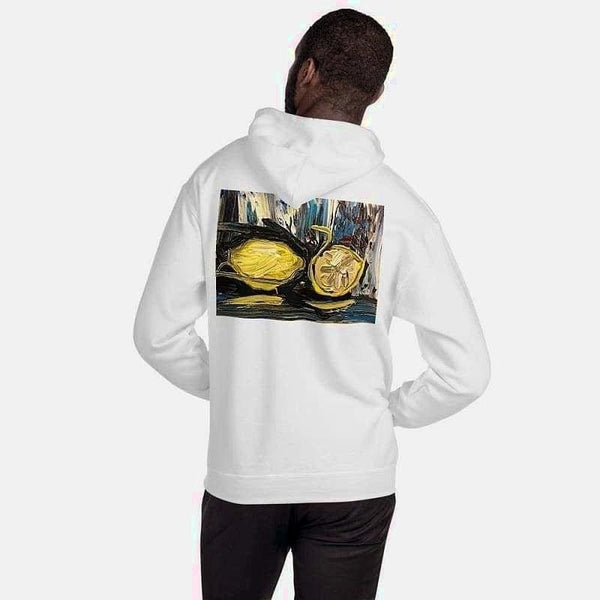 Hooded Sweatshirt (Artist Samuel Gillis) - White / S