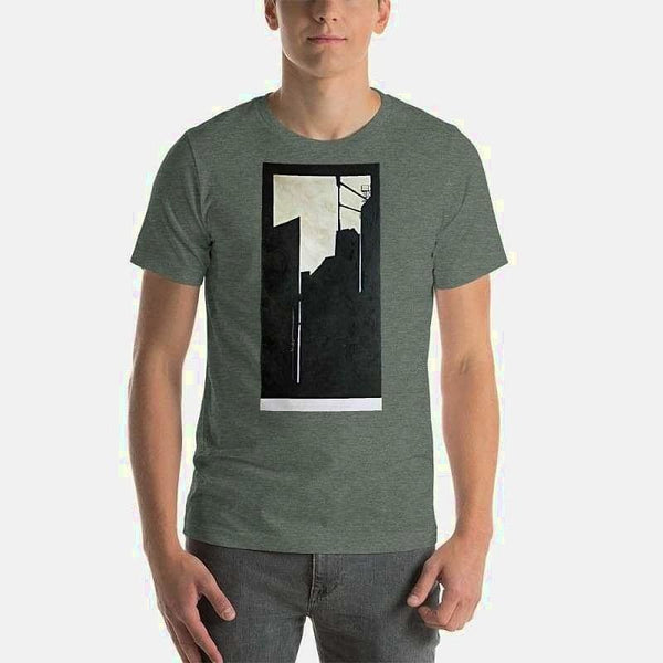 Short-Sleeve Unisex T-Shirt - Heather Forest / S
