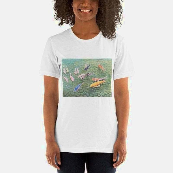 Short-Sleeve Unisex T-Shirt (Artist David Tobias) - White / XS