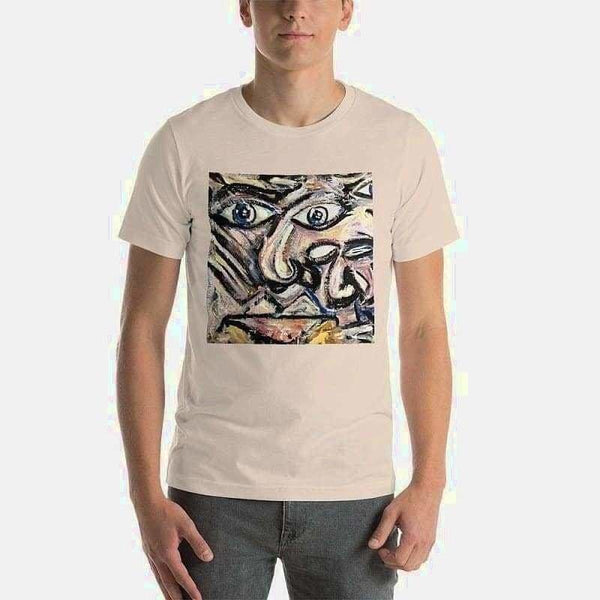 Short-Sleeve Unisex T-Shirt (Artist Samuel Gillis) - Soft Cream / S