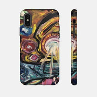 Tough Cases (Artist Ryan Karey) - iPhone XS / Glossy - Phone Case