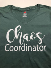 Load image into Gallery viewer, Chaos coordinator funny women's t shirt