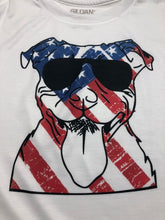 Load image into Gallery viewer, Patriotic pit bull t shirt