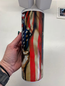 United States Air Force custom sublimation tumbler