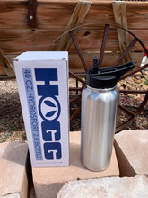 Load image into Gallery viewer, 40 oz hydro sport stainless steel tumbler,