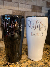 Load image into Gallery viewer, Husband and Wife wedding tumblers