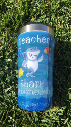Teacher shark tumbler