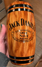 Load image into Gallery viewer, Jack Daniels hot/cold drink tumbler