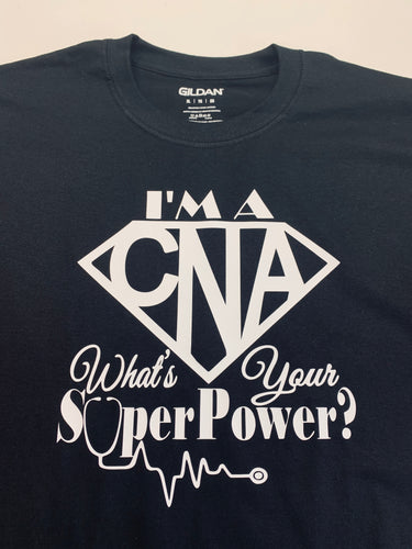 CNA shirt, what is your super power