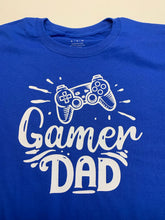 Load image into Gallery viewer, Gamer dad shirt set