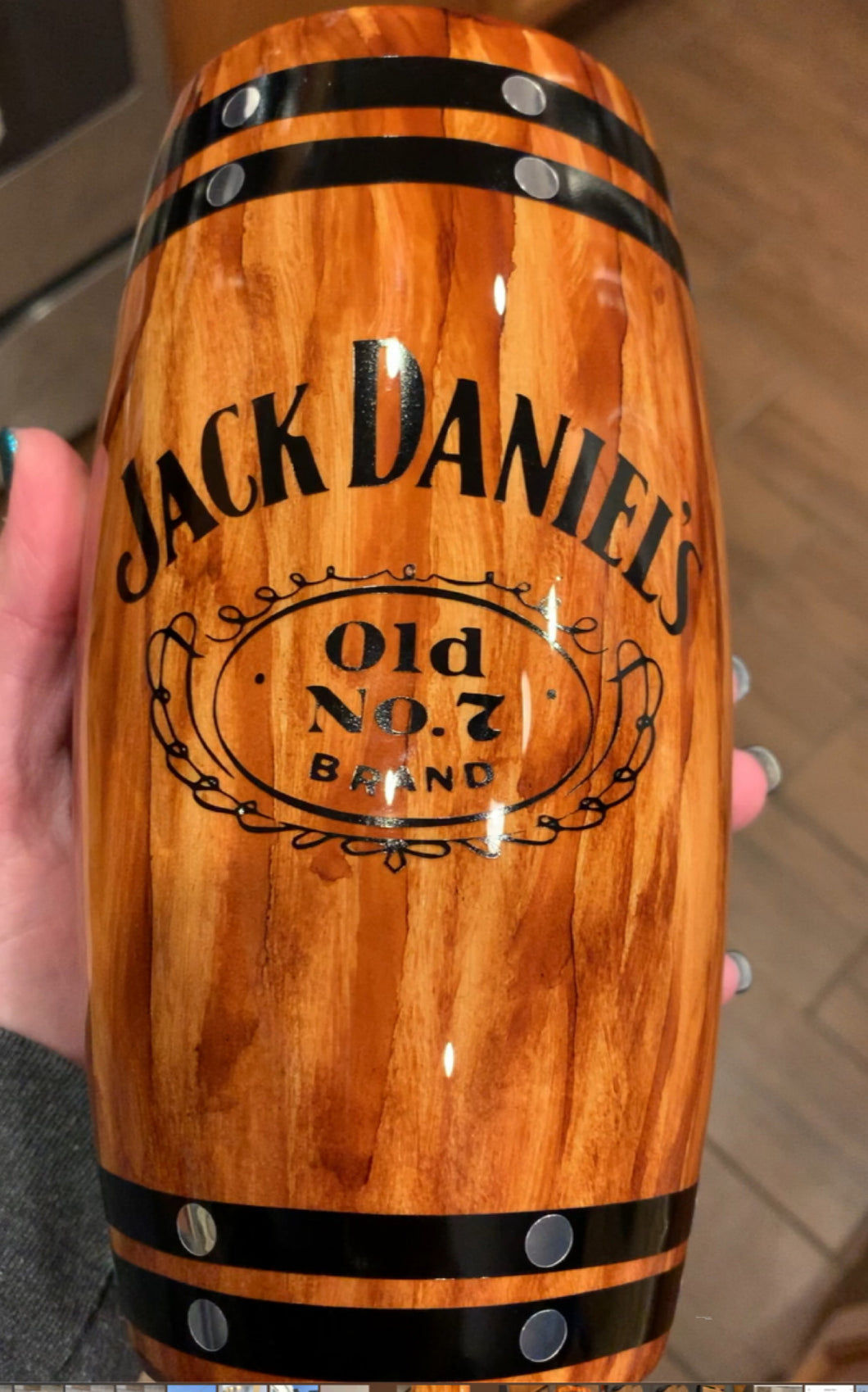 Jack Daniels hot/cold drink tumbler