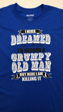 Load image into Gallery viewer, Grumpy old man t shirt, gift for dad or grandpa