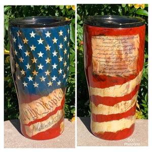 We the people constitution tumbler