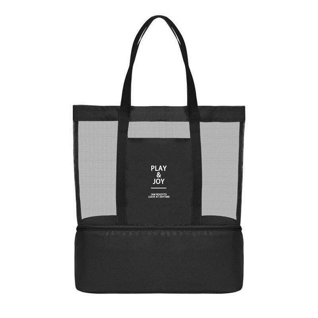 265a45dddd13 Mesh Beach Tote Bag Insulated Picnic Cooler Travel Bag(Buy 3 Get $10 Off By  Code: BUY3)