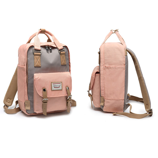 Waterproof Vintage Travel Backpack
