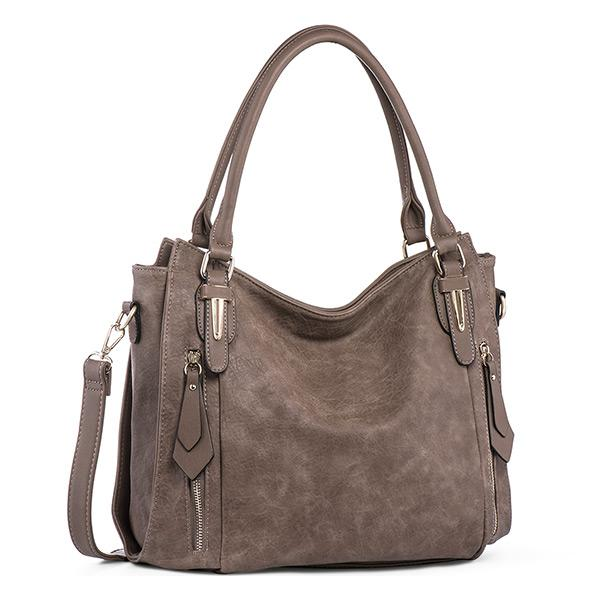 Pierrebuy _ Fashion Zipper Tote Shoulder Bag_designer bags