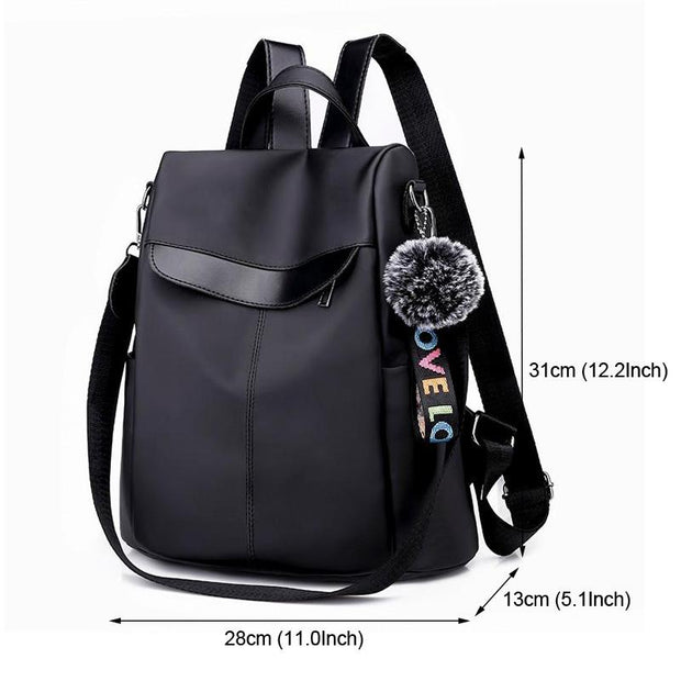 Large Capacity Women Anti-theft Backpack