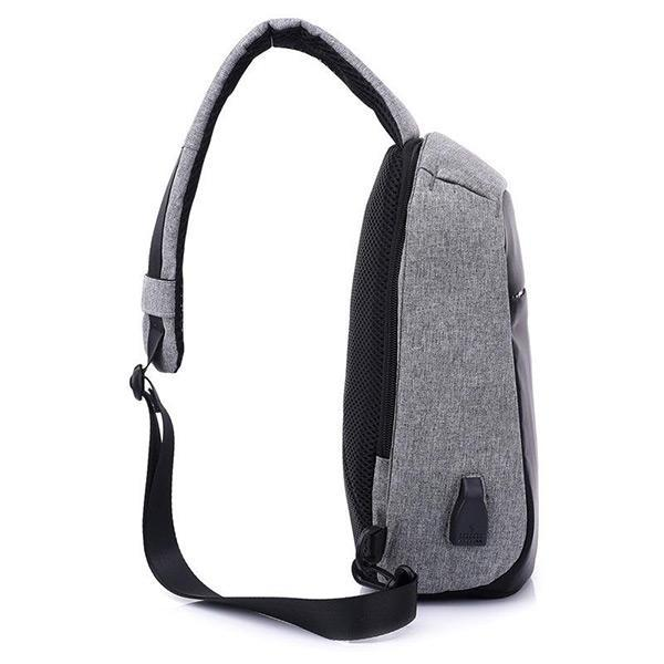 Waterproof Crossbody BagMan Sling Bag - Pierrebuy