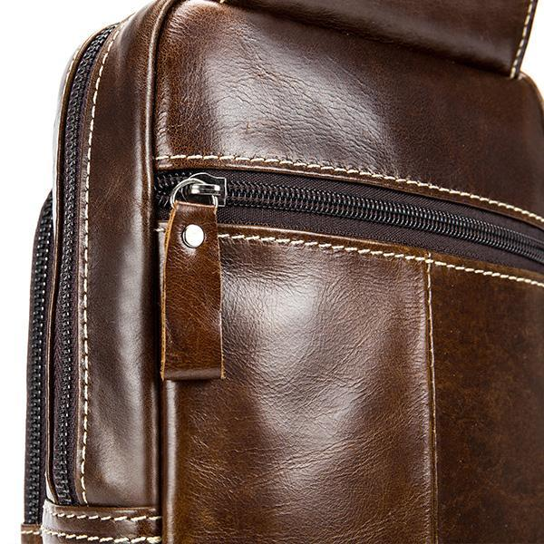 Pierrebuy _ Leather Chest Bag_designer bags