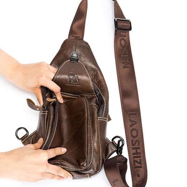 Pierrebuy _ Genuine Leather Vintage Chest Bags_designer bags