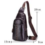 Pierrebuy _ Design Genuine Leather Chest Bag_designer bags