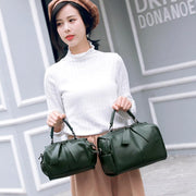 Pierrebuy _ Leather Shoulder Tote Bag_designer bags