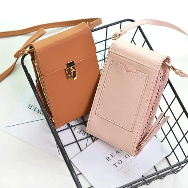 Pierrebuy _ Mini Phone Coin Card Slot Crossbody Bag_designer bags