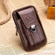 Pierrebuy _ Genuine Leather Waist Phone Wallet_designer bags