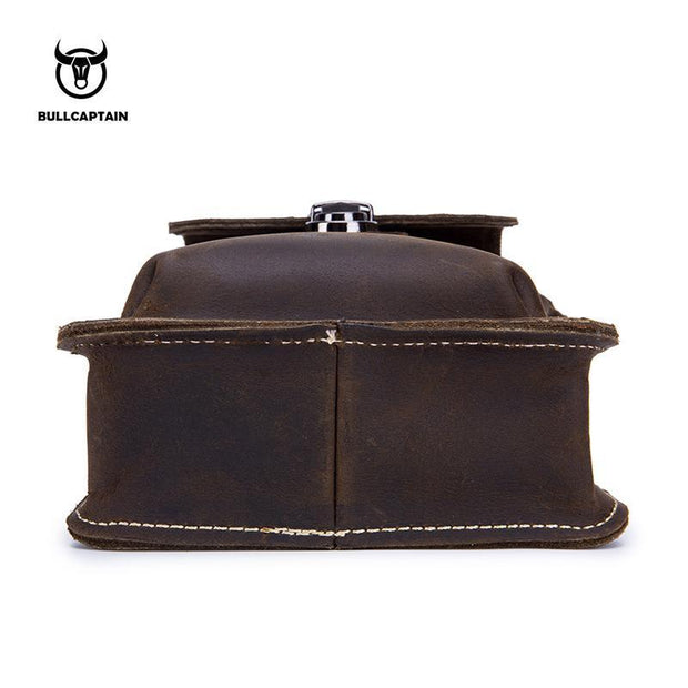 Pierrebuy _ BULLCAPTAIN Leather Waist Pack_designer bags