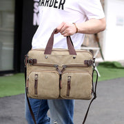 Pierrebuy _ Multifunctional Canvas Solid Bag_designer bags