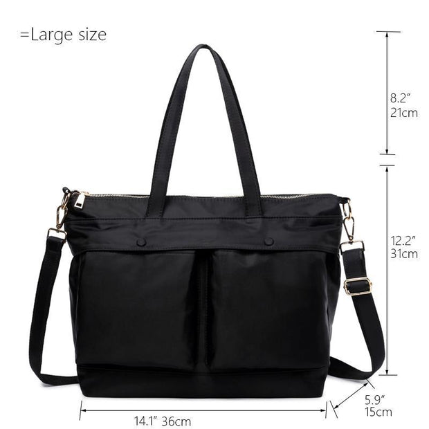 Pierrebuy _ Large-capacity Waterproof Shoulder Handbag_designer bags