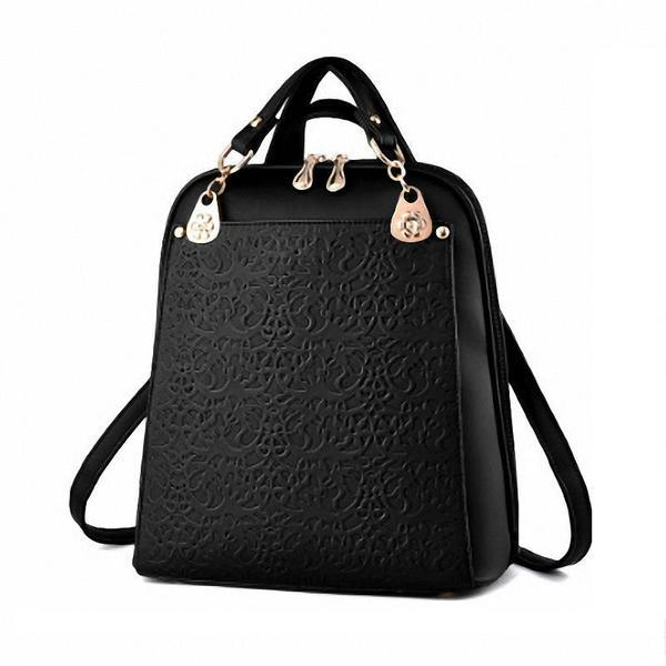 Multifuntional Women Backpack Shoulder Bag