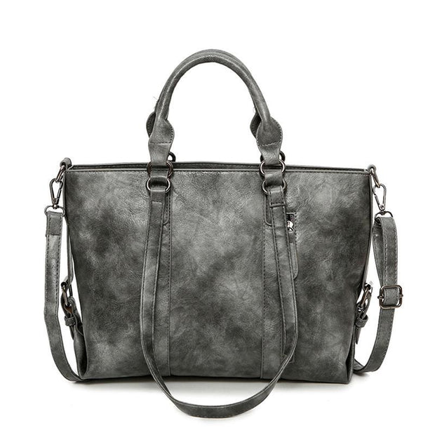 Pierrebuy _ Larger Capacitry PU Leather Handbag_designer bags