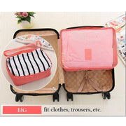 Pierrebuy _ 6PCS Travel Mesh Bag Luggage Organizer_designer bags