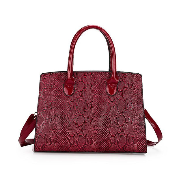 Women Tote Shoulder Handbags Purse Set