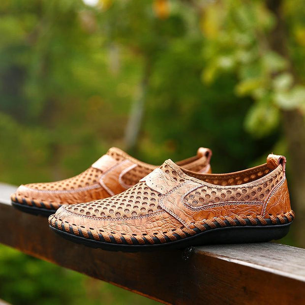 Men's Mesh Soft Breathable Outdoor Loafers Shoes