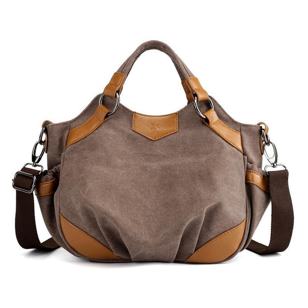 Pierrebuy _ Fashion Large Capacity Women Handbag Canvas Shoulder Bag Female Tote 114205_designer bags