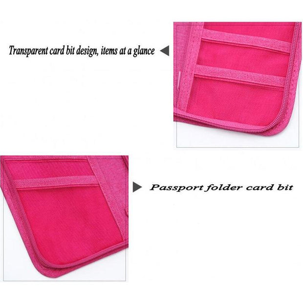 Travel Wallet Credit Card ID Holder