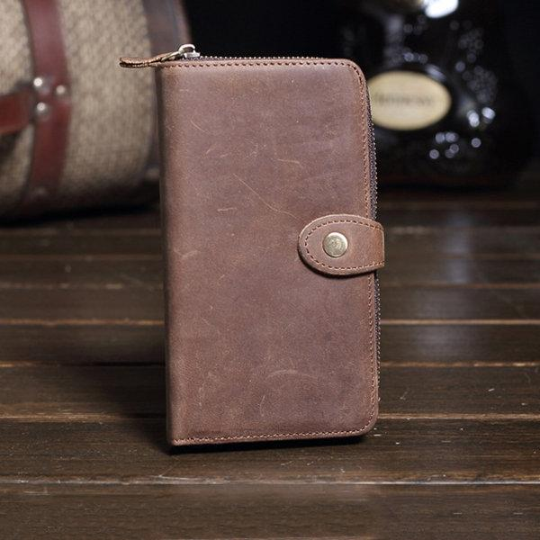 Vintage Genuine Leather  Wallet For Men