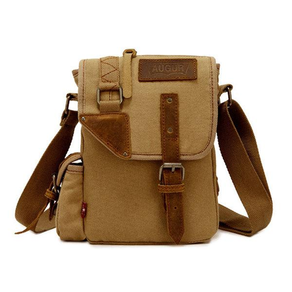 Men's Canvas Crossbody bag