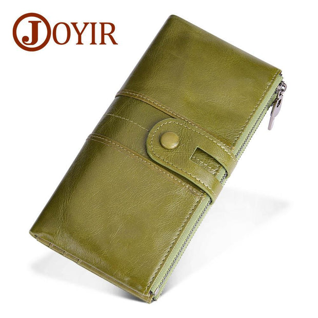 Pierrebuy _ Genuine Leather Long Wallet_designer bags