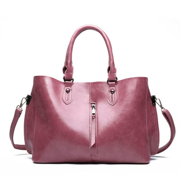 Women Bag Set Top-Handle Big Capacity Female zipper Shoulder Bag PU Leather Crossbody Bag 115079