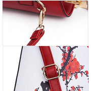Women Flower Pattern National Style Handbag