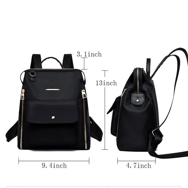 Pierrebuy _ Casual Oxford Women Backpack Daypack Travel Bags Famous Designers Shoulder Bag Leisure Backpacks 115700_designer bags