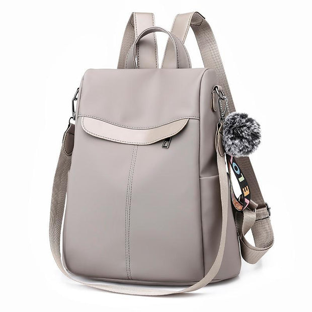 Pierrebuy _ High Quality Nylon Bags for Women Casual Backpack Women Anti-theft School Bag 115704_designer bags