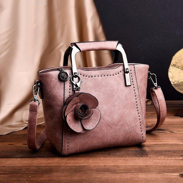 Elegant Vintage Multifunction Daily Handbag