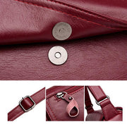 Pierrebuy _ larger capacity women PU leather  shoulder messenger bag  115796_designer bags