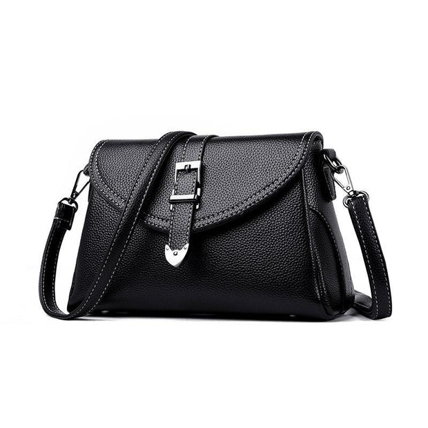 Pierrebuy _ Casual pu leather women shoulder messenger bag  115816_designer bags