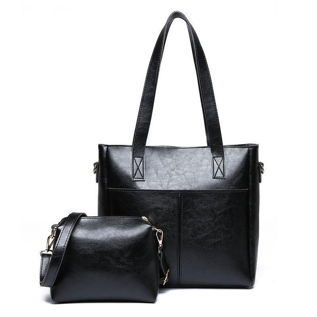 Pierrebuy _ Fashion PU Leather Women Bag High Quality Shoulder Bag Solid Composite Bags 116032_designer bags