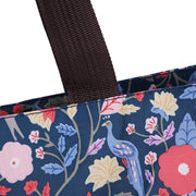 Women Flower Printed Bags Large Capacity Nylon Sjoulder Bags with Purse 115764